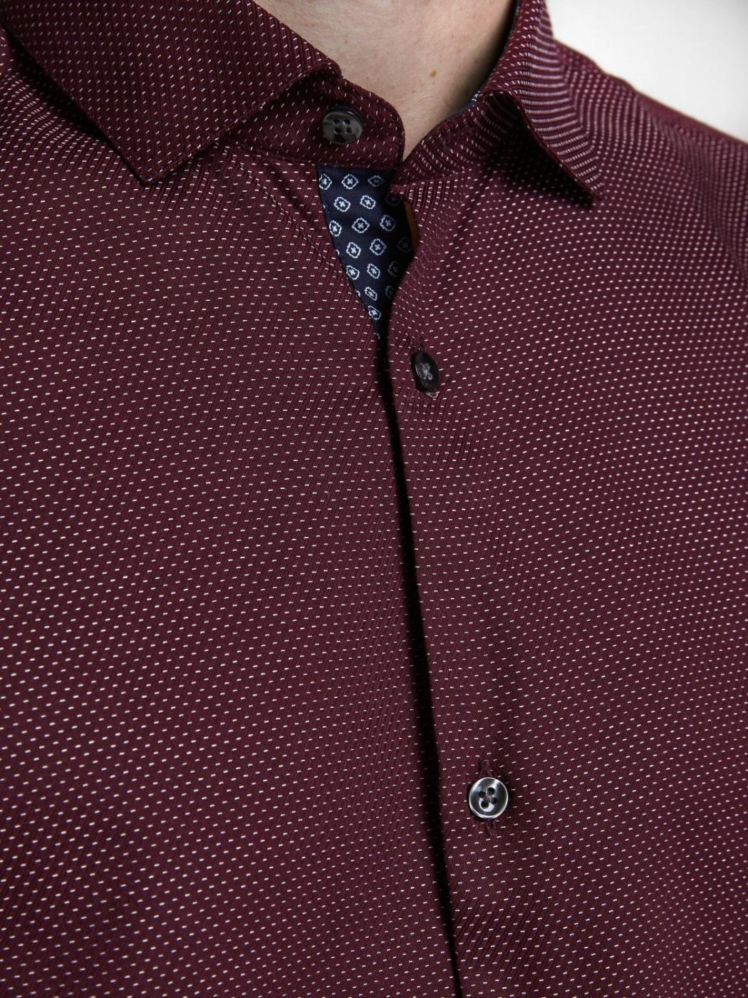 JPRBLAOCCASION STRUCTURE SHIRT RED-X