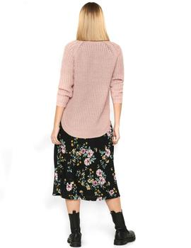 ONLNEW MELIA L/S LONG PULLOVER ROSE-X