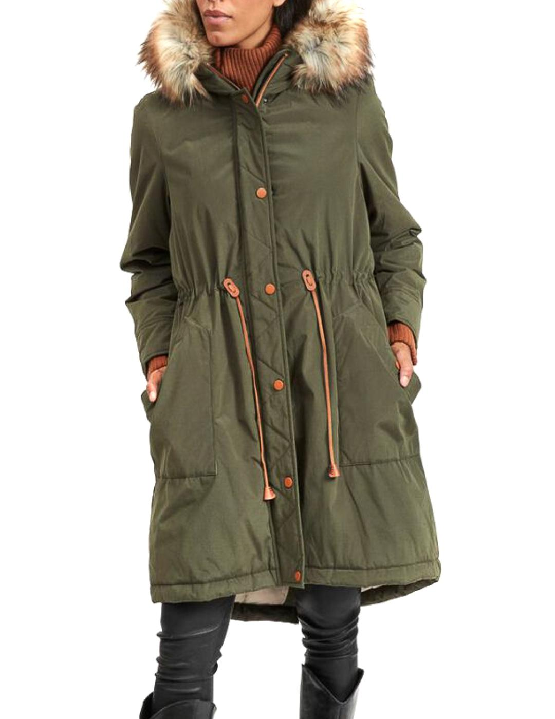 VIFLAVIA NEW LONG PARKA/SU FOREST-X