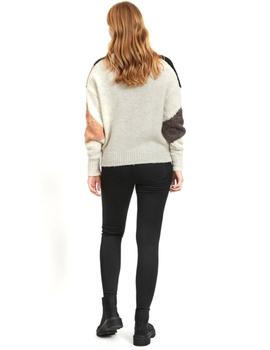 VIELRO KNIT O-NECK L/S TOP-X