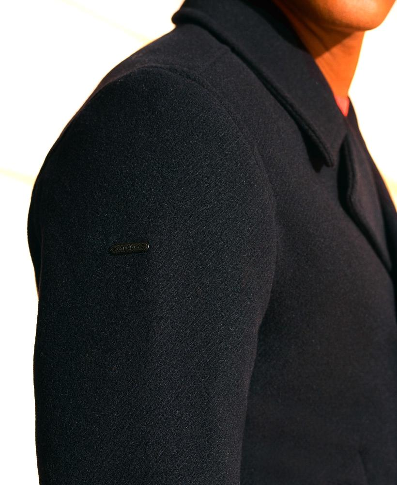 WOOL DB PEACOAT-X
