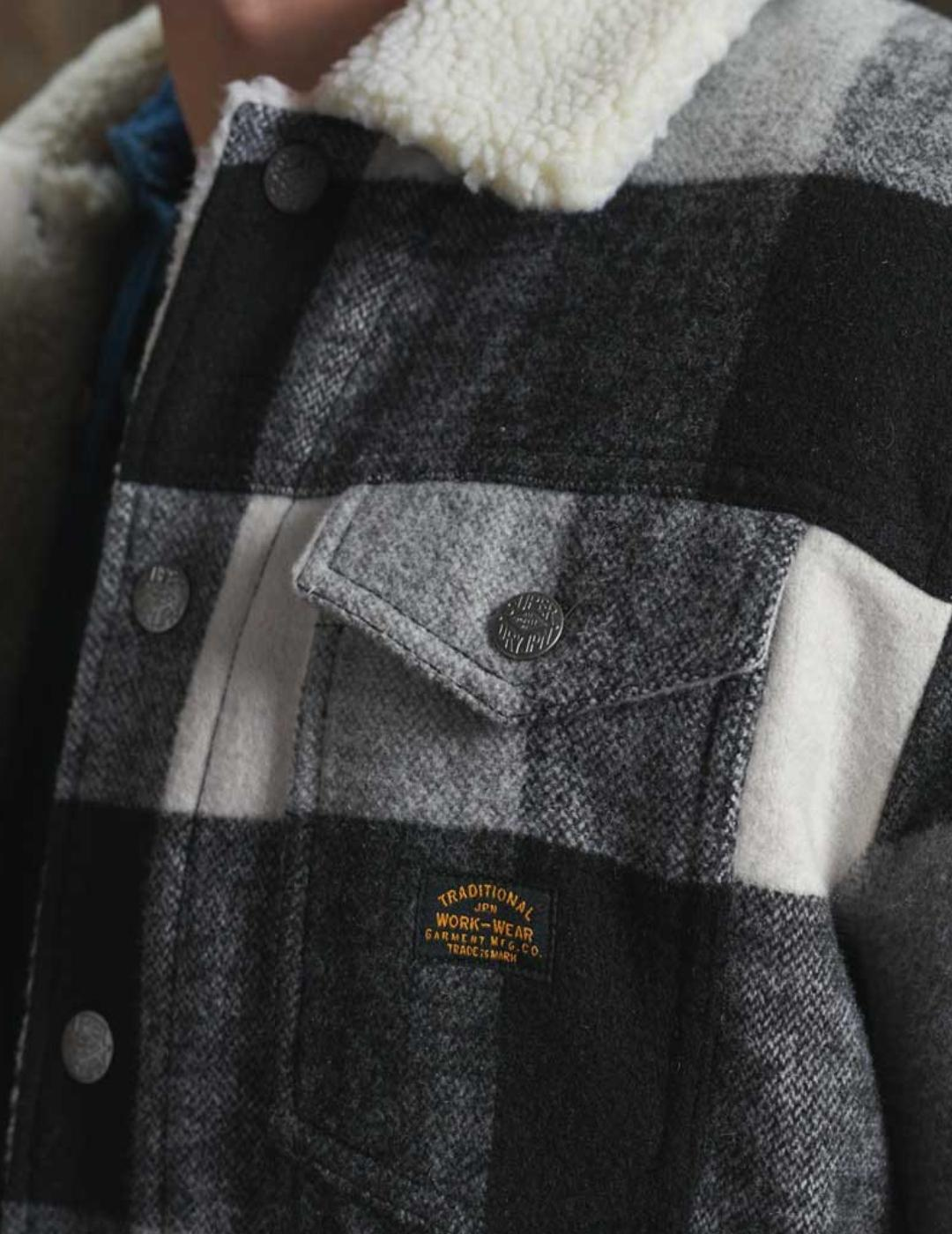 HIGHWAYMAN WOOL SHERPA TRACKET-X