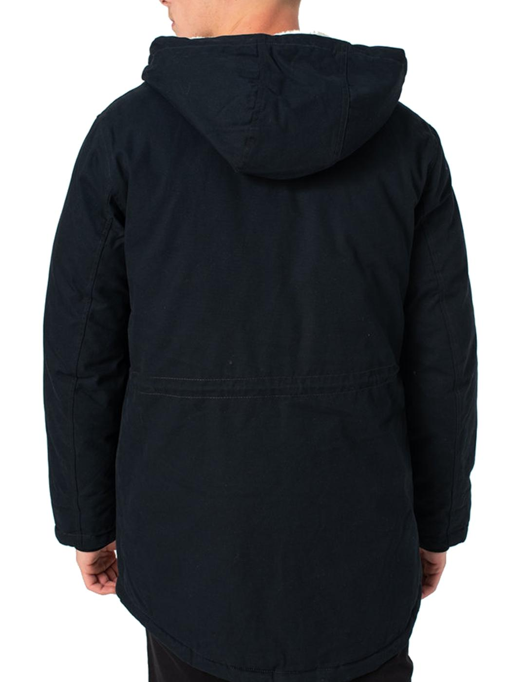 JORWALLY PARKA JACKET BLACK-X