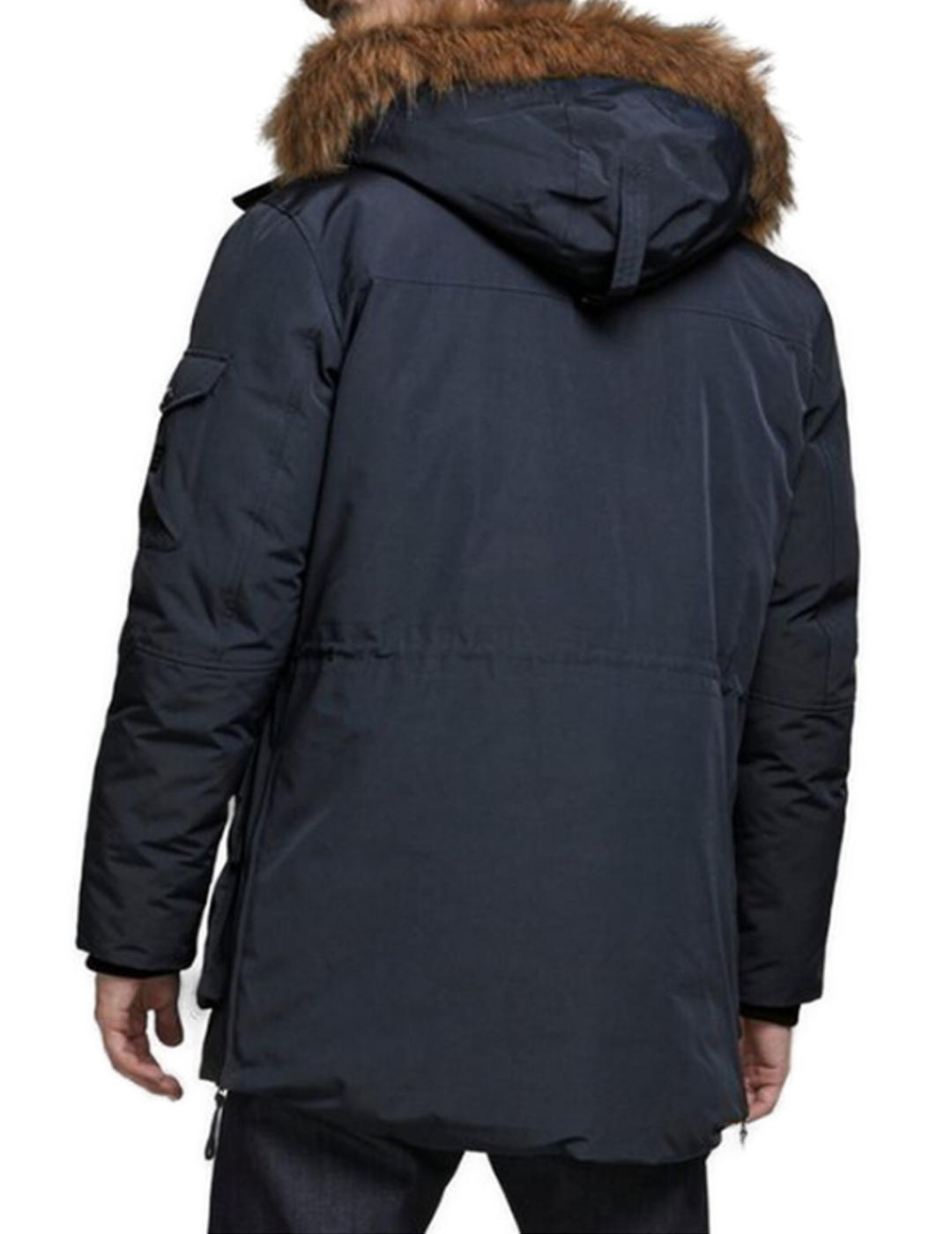 JJASHER PARKA DARK-X