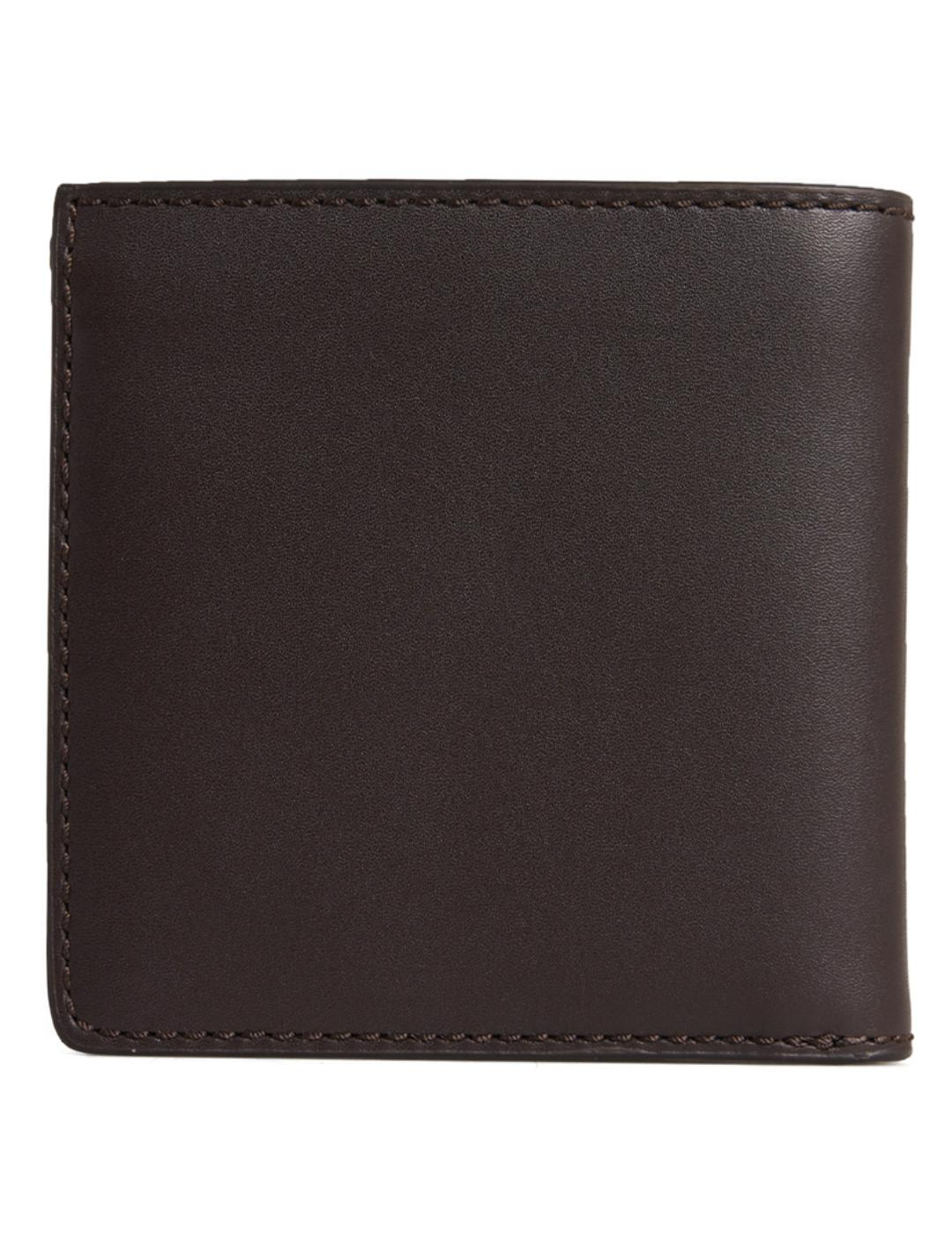 VERMONT BIFOLD LEATHER WALLET-X