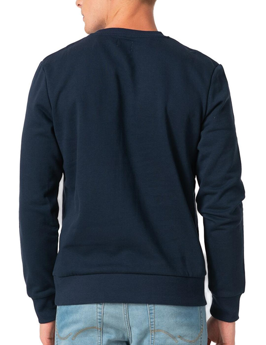 JJHERO SWEAT CREW NAVY-X