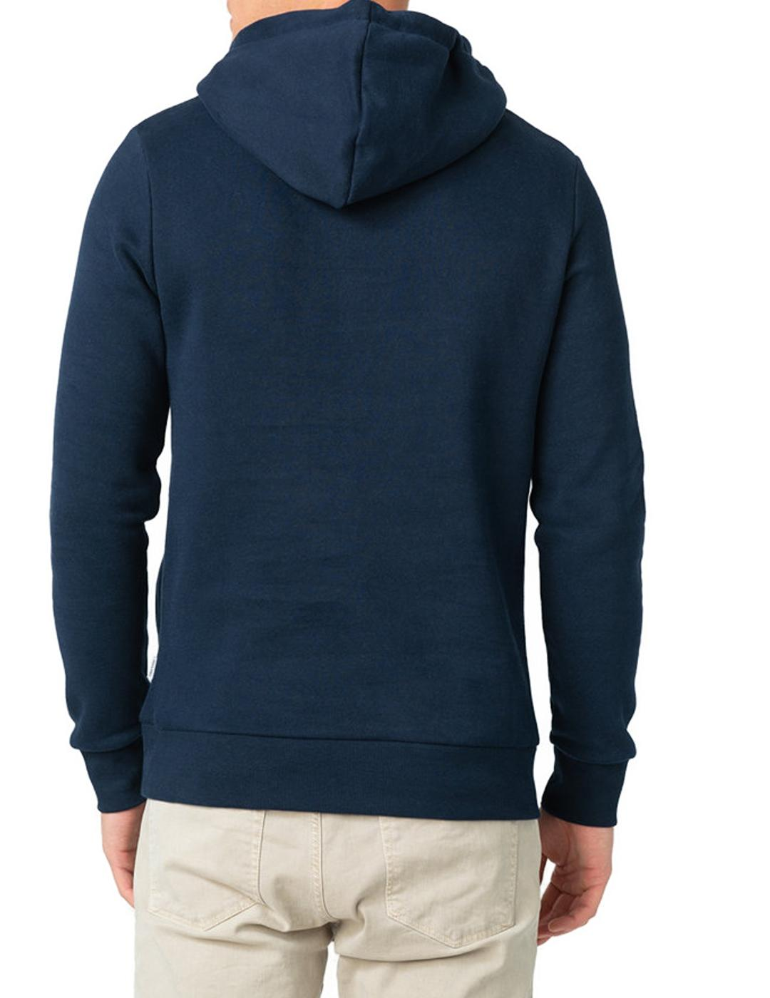 JJAPPLICATION SWEAT HOOD NAVY-X