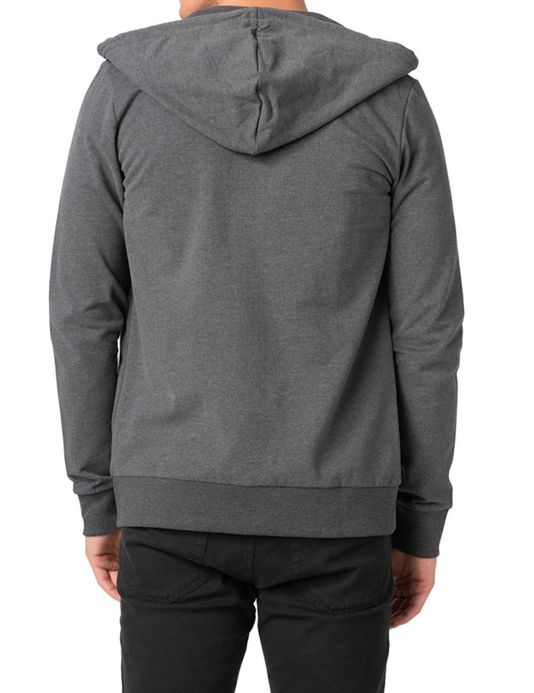 JORCLAYTON SWEAT ZIP HOOD DARK-X