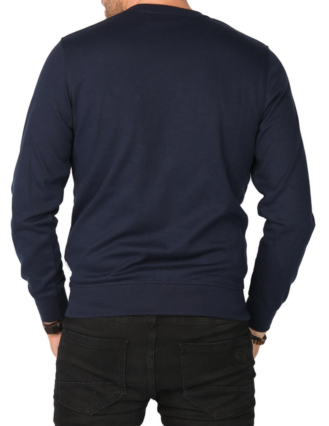 JCOMATTEO CREW SWEAT NAVY-X
