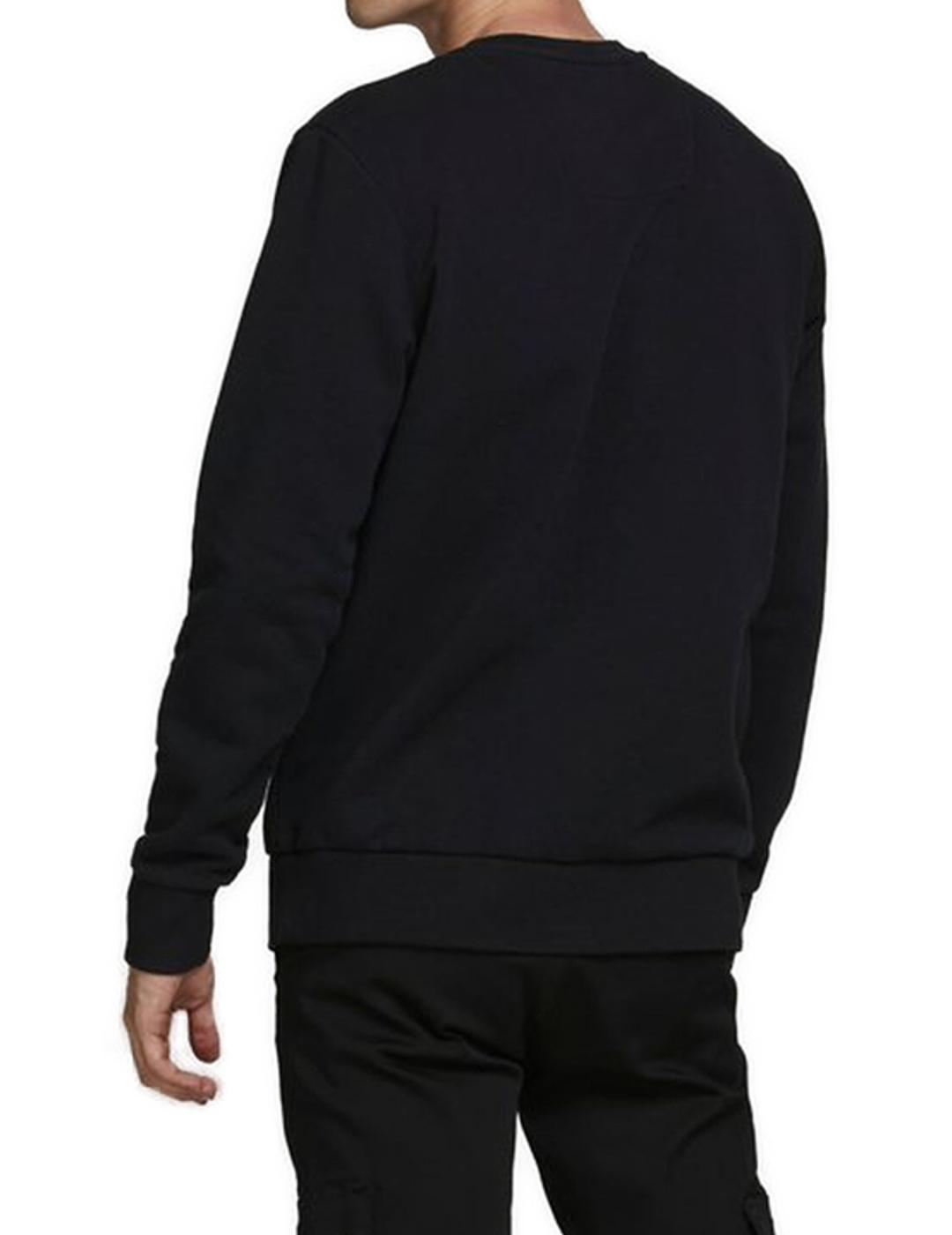 JCOSUPERMARIO SWEAT CREW NECK BLACK-X