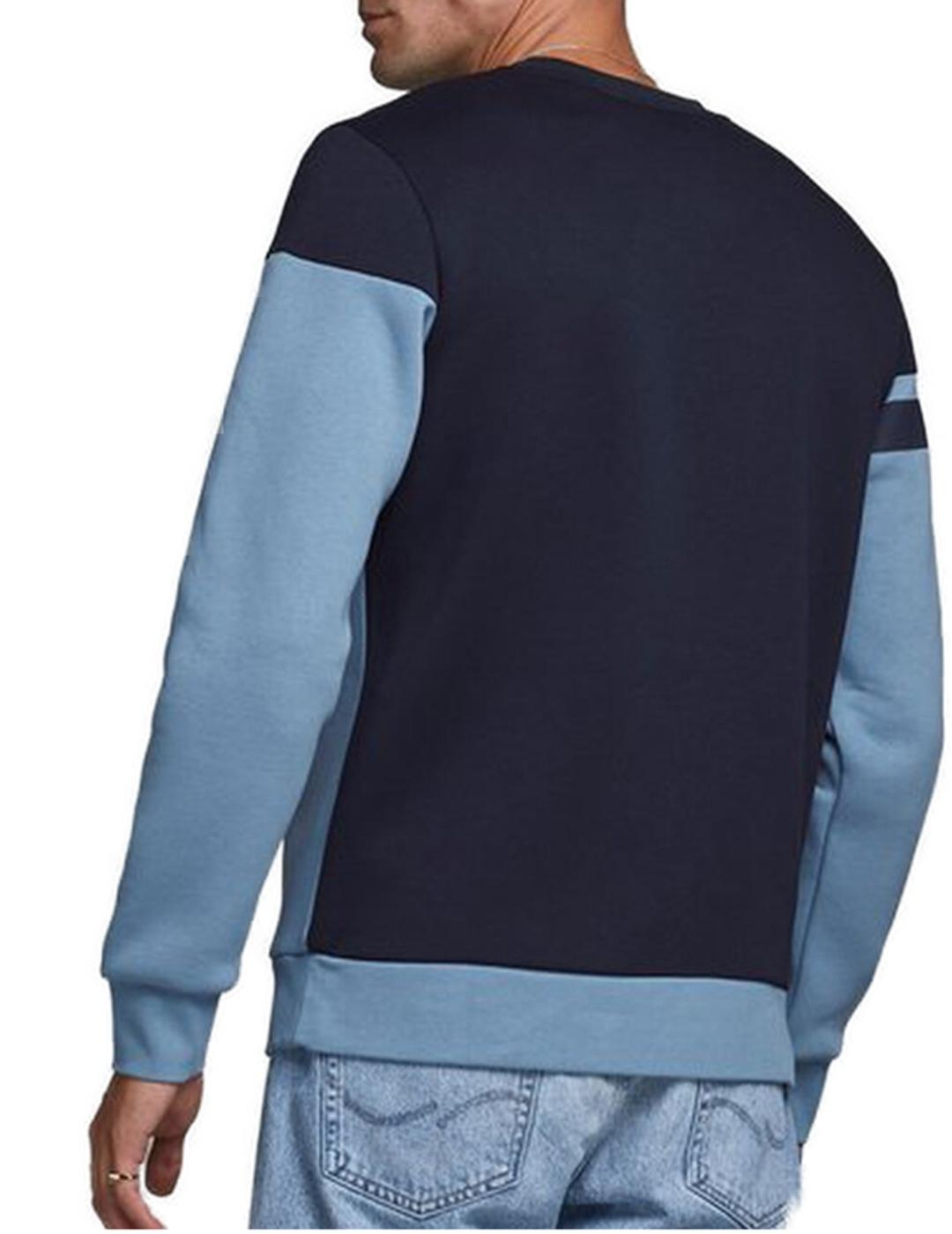 JCOKADE SWEAT CREW NECK BLUE-X