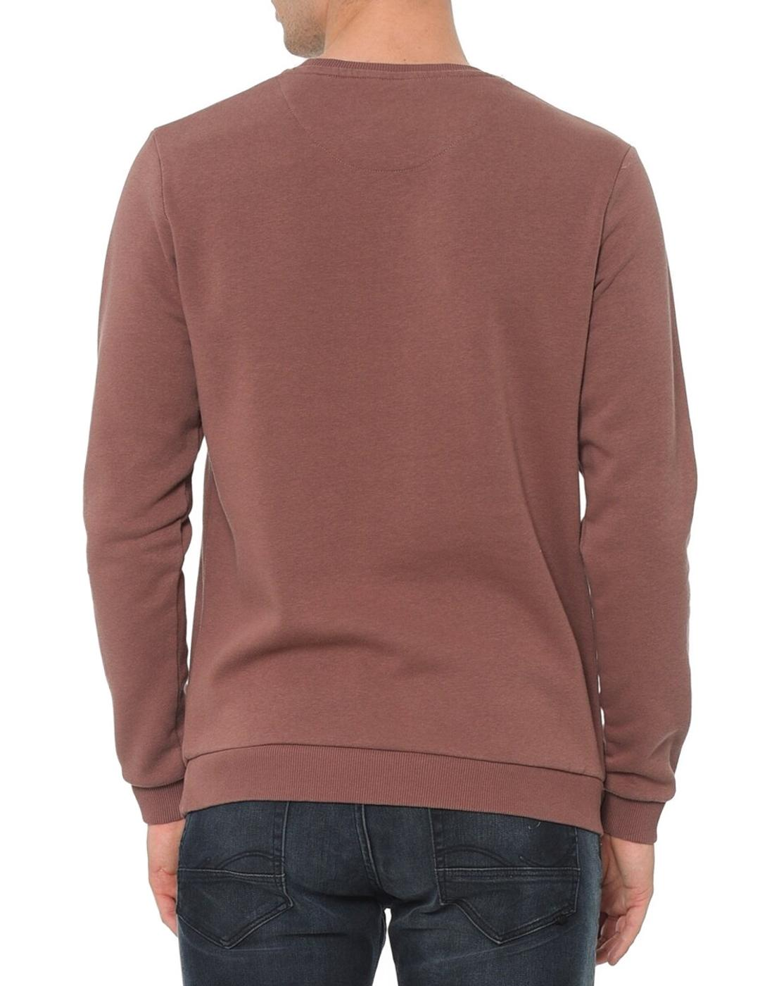 JORNEIL SWEAT CREW NECK ROSE-X