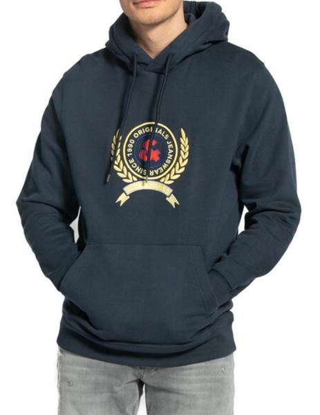 JORPREP SWEAT HOOD NAVY-X