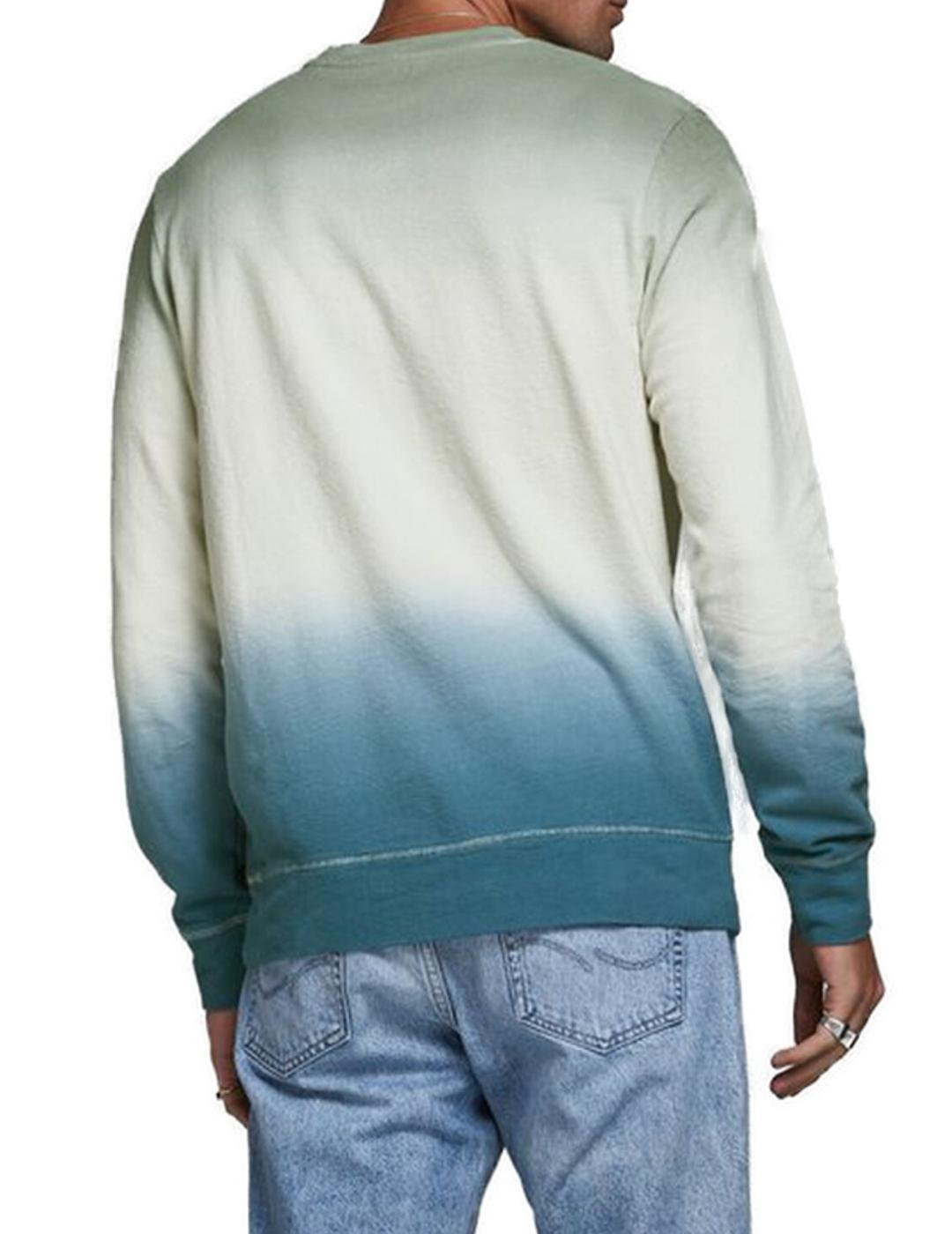 JORTIEDYE SWEAT CREW NECK GREEN-X
