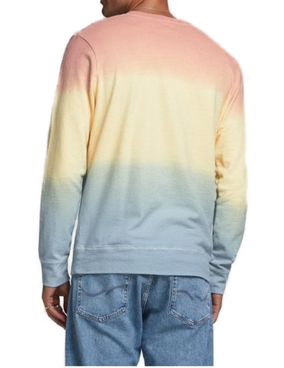JORTIEDYE SWEAT CREW NECK FLAN-X