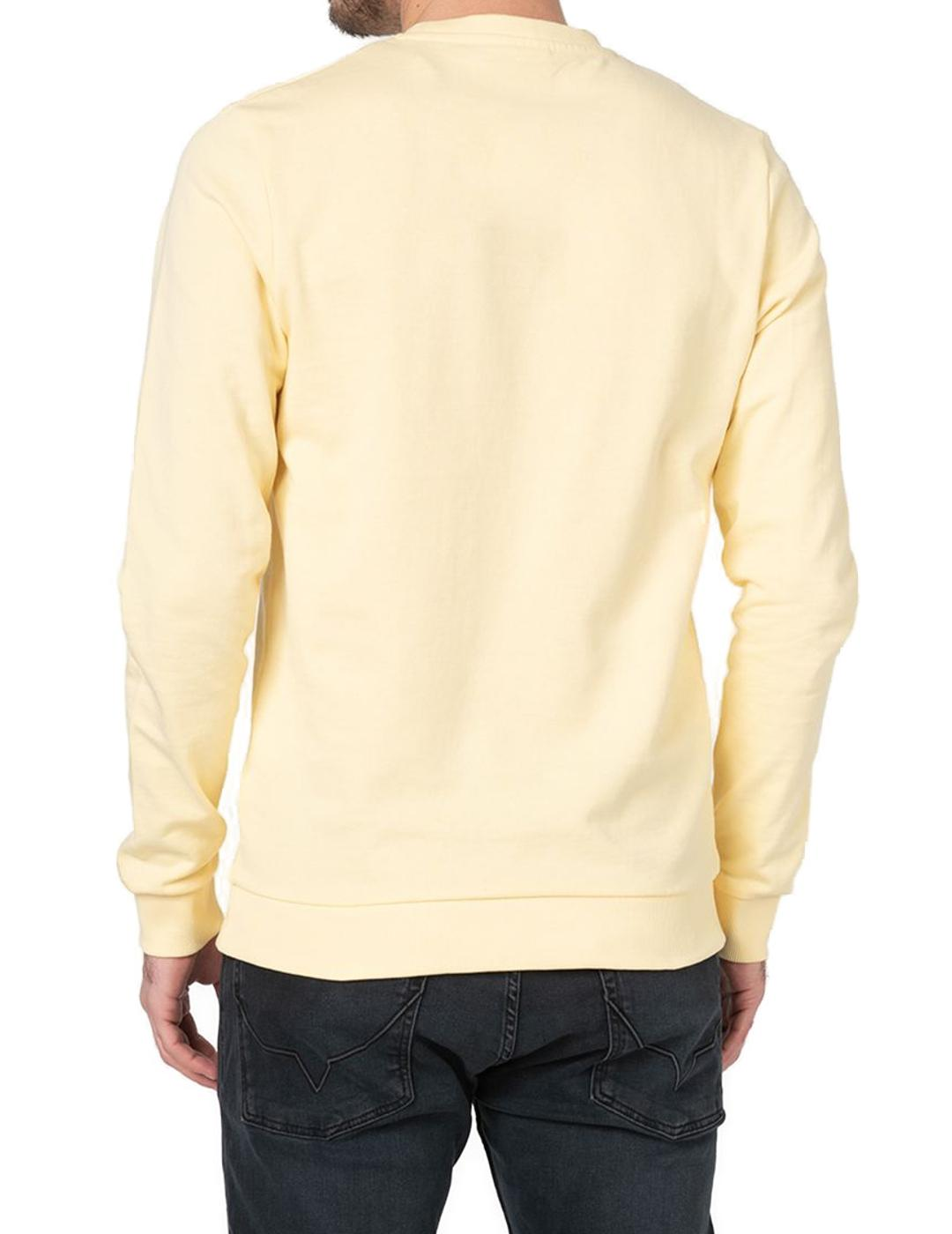 JORQUIVER SWEAT CREW NECK FLAN-W