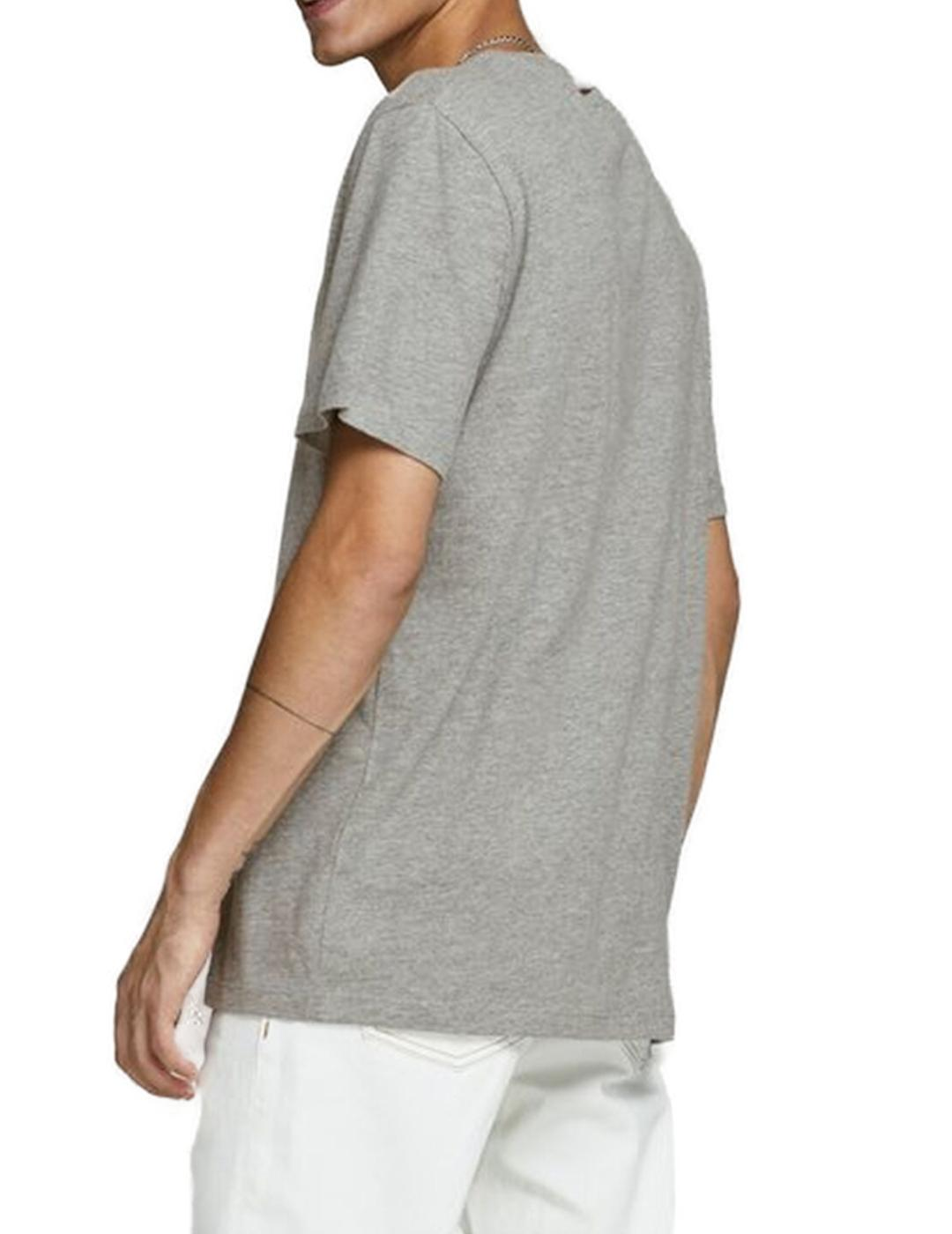 JORTREVOR TEE SS CREW NECK LIGHT-W