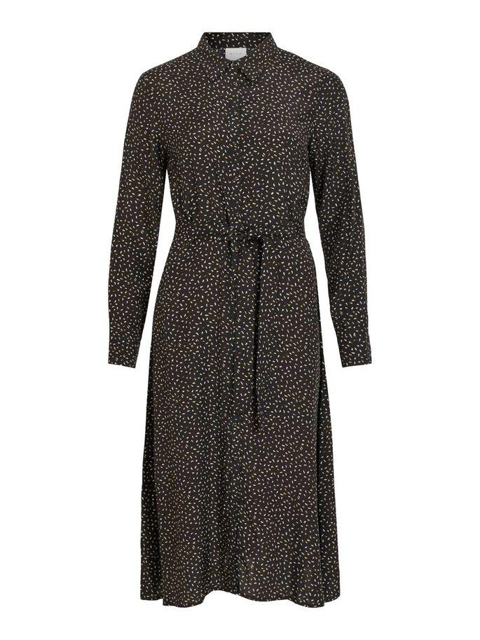 VICORAS L/S DRESS BLACK-Y
