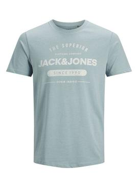 JJEJEANS TEE SS CREW NECK FADED-Y