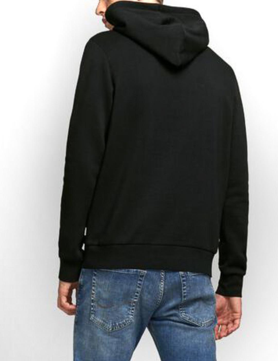 JJECORP LOGO SWEAT HOOD BLACK-Y