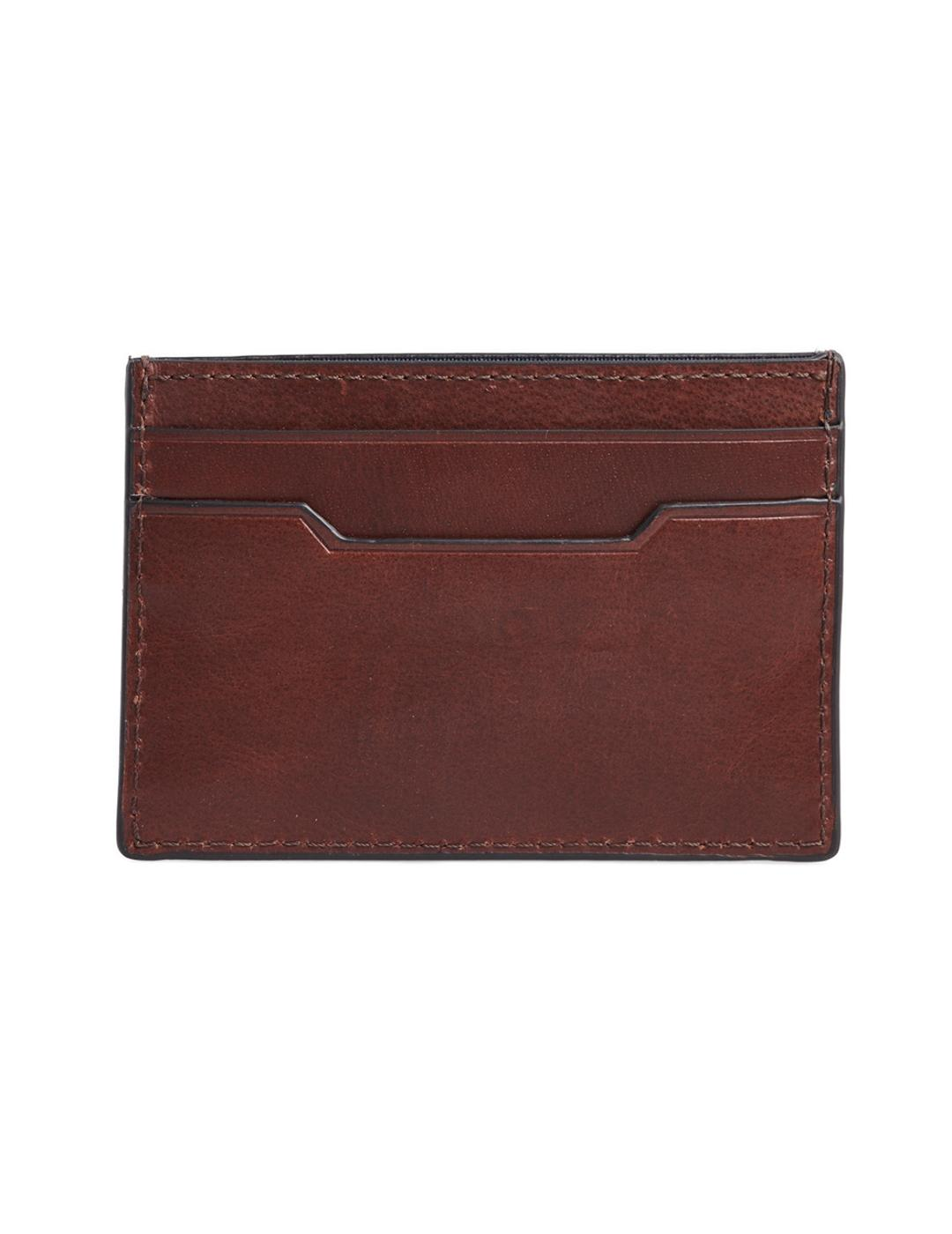 LEATHER CARD HOLDER-Y