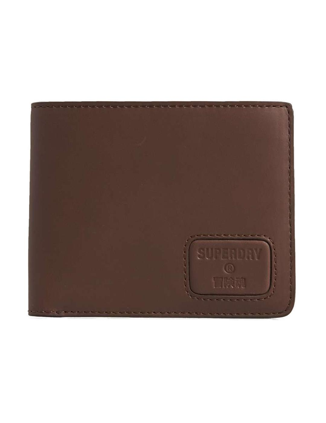 NYC BIFOLD LEATHER WALLET-Y