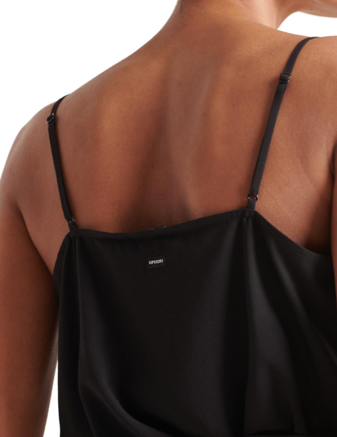 CAMI TOP BLACK- Y