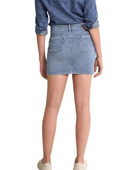 MINIFALDA PUSH UP SHAPE UP DENIM- Y