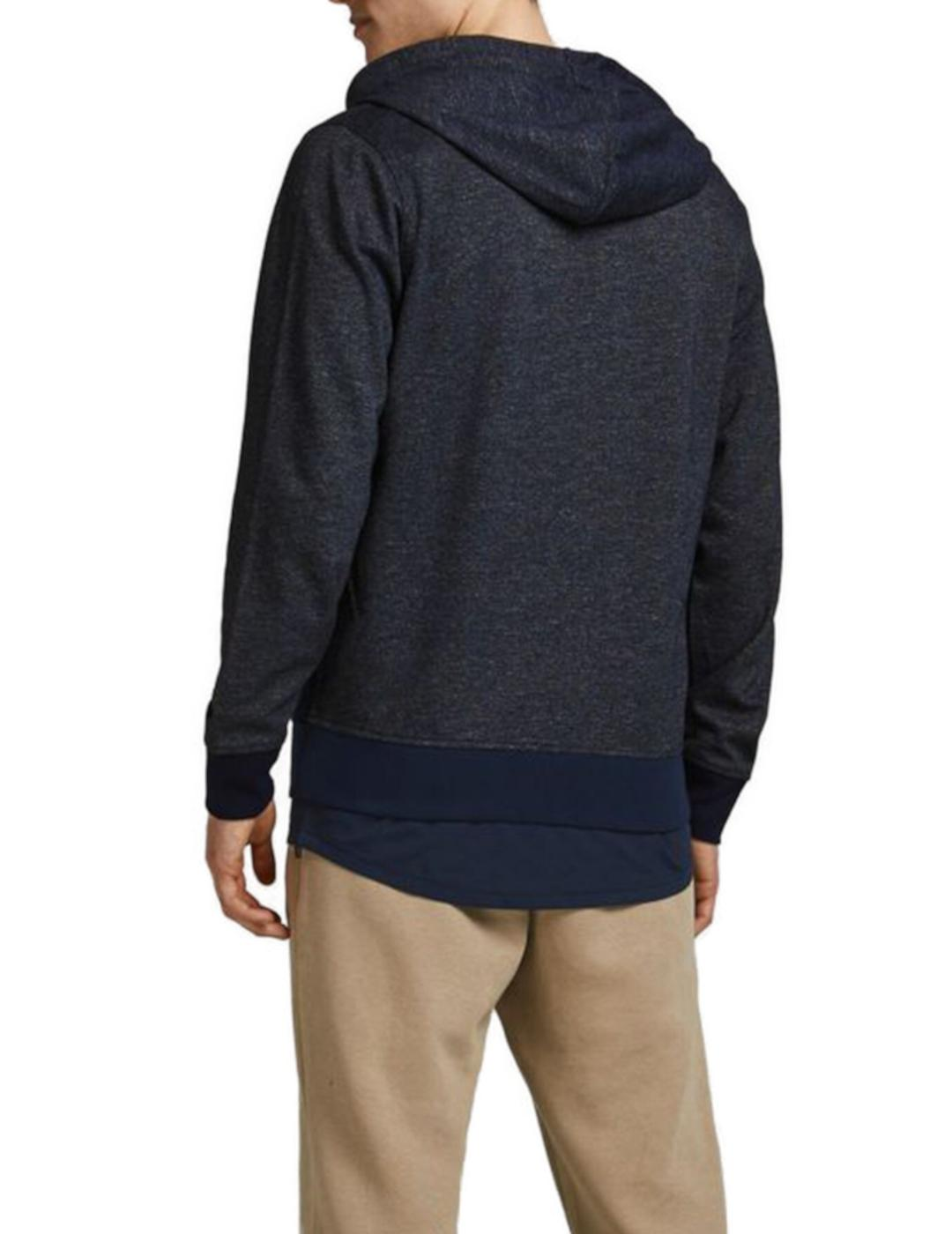 JCOKOBE SWEAT ZIP HOOD NAVY-Y