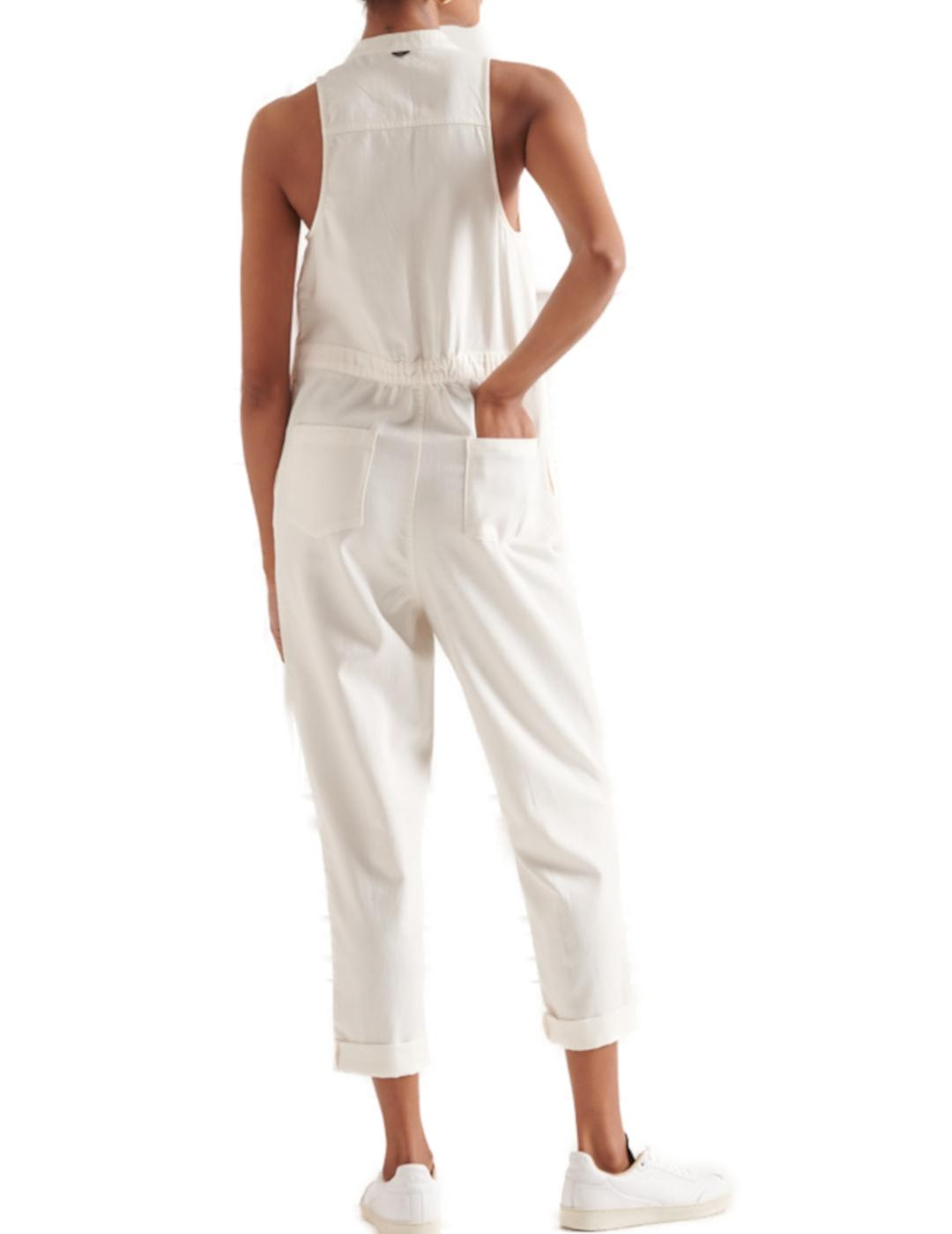 TENCEL SLEEVELESS JUMPSUIT-Y