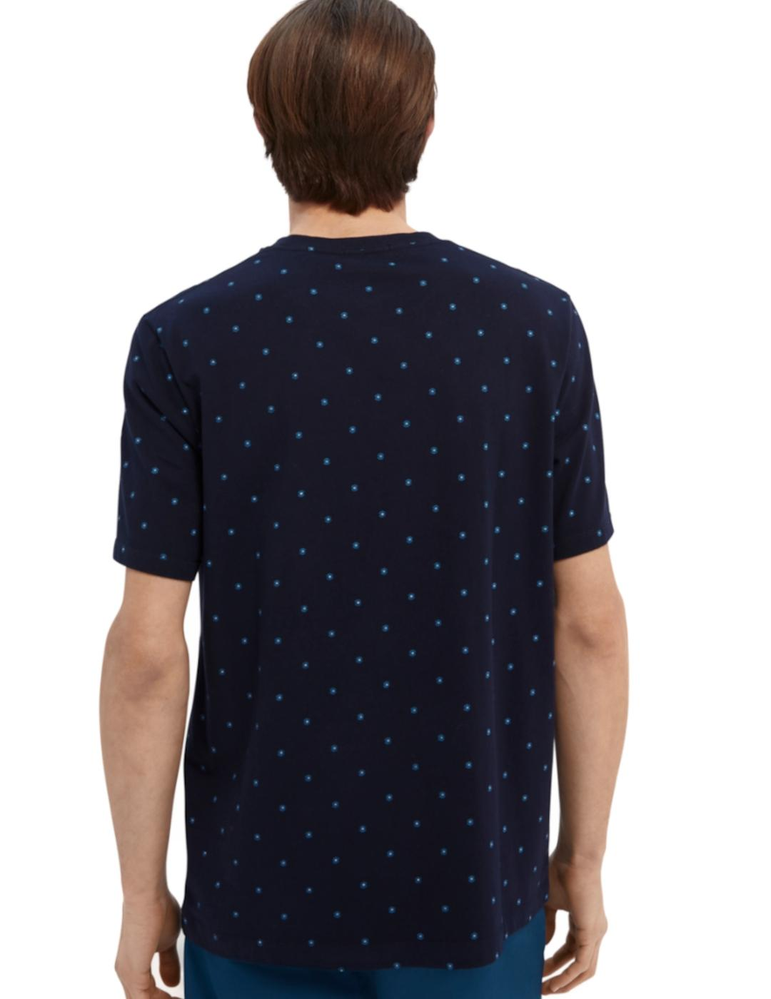 CLASSIC PATTERNED CORROS T-SHIRT-Y