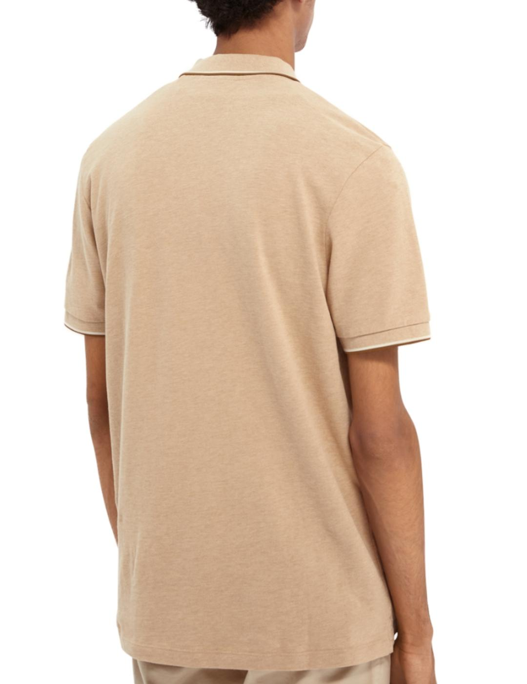 ORGANIC COTTON MELANGE POLO-Y