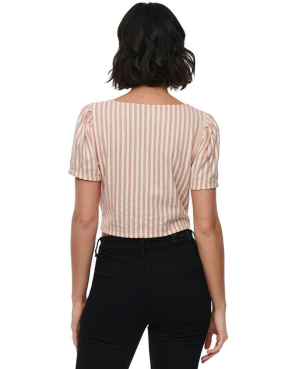 ONLJOLLA S/S TOP PEACH-Y