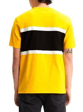 SS COLOR BLOCK TEE JERSEY -V