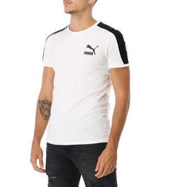 ICONIC T7 TEE CLIM FIT WHITE-V