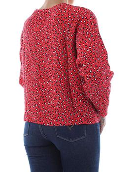 MIRANDA TOP FUN LEOPARD RED- V
