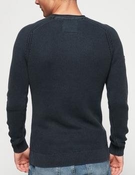 GARMENT DYED L.A. TEXTURED CREW-V