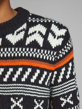 JORWINTER KNIT CREW NECK TAP-V