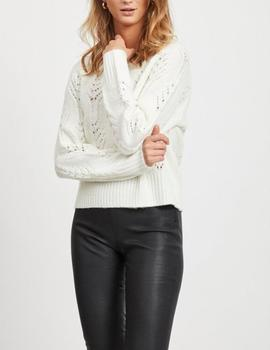 VIRAONA KNIT L/S TOP WHISPER-V