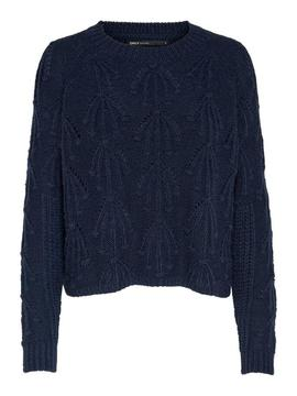ONLNANCY L/S PULLOVER NIGHT-V