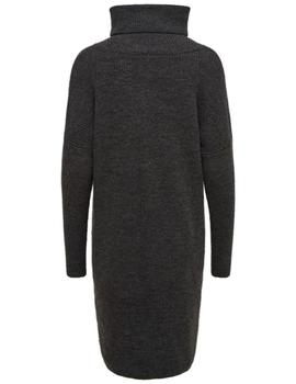 ONLJANA L/S CIWNECK DRESS DARK-V