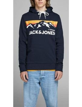 JORWILMER SWEAT HOOD NAVY-V