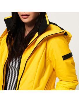 PADDED AEON JACKET BRIGHT YELLOW-V