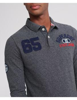 SUPERSTATE CLASSIC L/S POLO-V