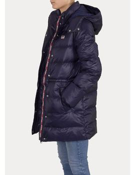 KELLI DOWN PUFFER BLUE-V