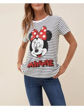 CAMISETA MINNIE RAYAS- W