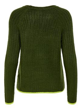 ONLNADINE L/S PULLOVER FOREST-W