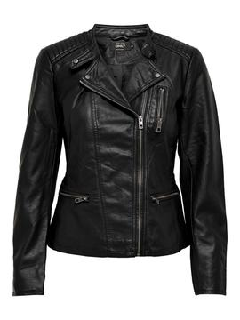 ONLFREYA FAUX LEATHER BIKER NOOS- W