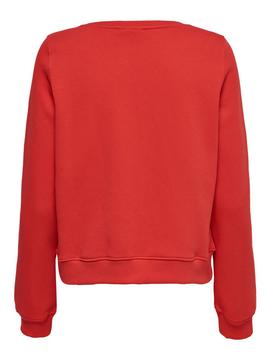ONLFAMINA L/S O-NECK HIGH-W