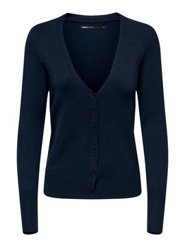 ONLVENICE L/S V-NECK CARDIGAN NIGHT-W